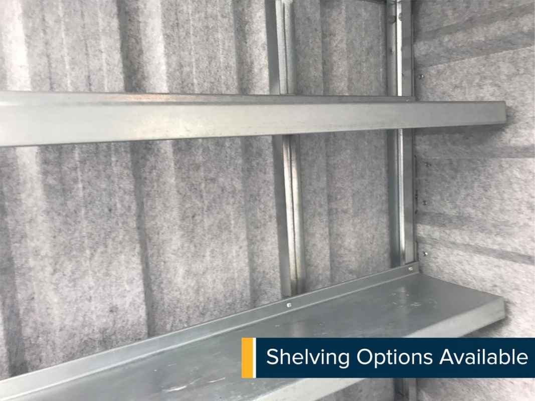 Shelving Options Available
