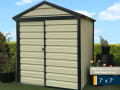 7ft x 7ft shed