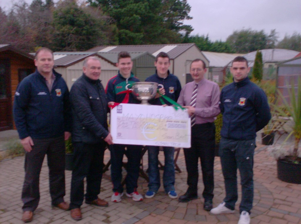 Steeltech present €2,500 for Mayo / Roscommon Hospice